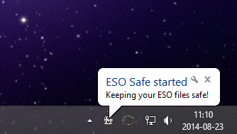 ESO Safe - Keeps your Elder Scrolls Online files safe!